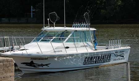 Compensator Lake Erie Walleye Fishing Charters